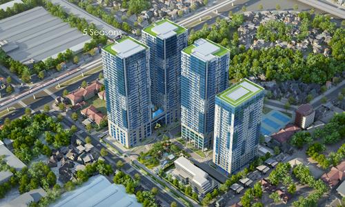Sau chung cư, văn phòng cho thuê sẽ hưởng lợi lớn từ đường sắt đô thị