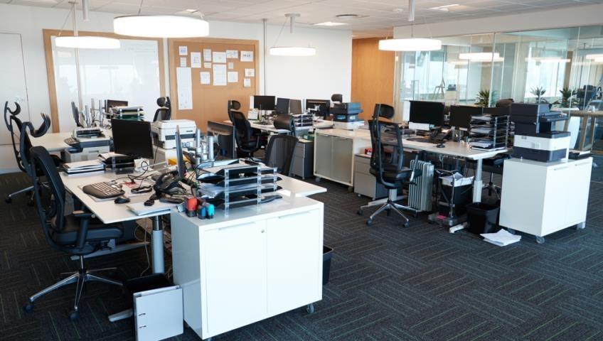 hình ảnh văn phòng được SWIN decor lại