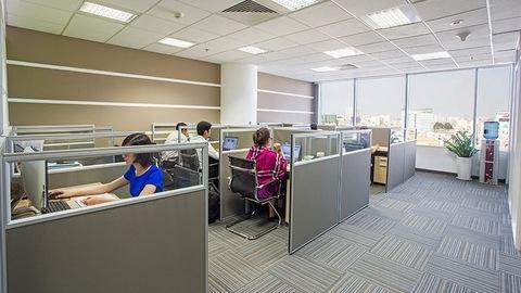 Trái chiều thị trường văn phòng cho thuê
